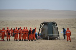 Shenzhou-11's Return to Earth