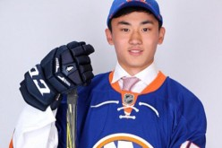 Andong Song is the first Chinese ice hockey player to be drafted by the NHL.