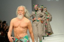 Wang Deshun is China's hottest grandpa.