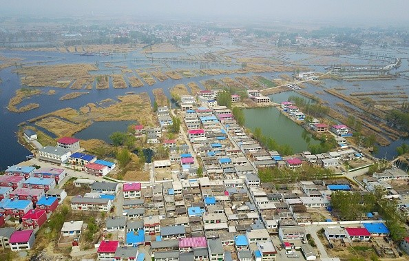 Houses in Xiongan