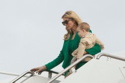 Ivanka and her son, Theodore