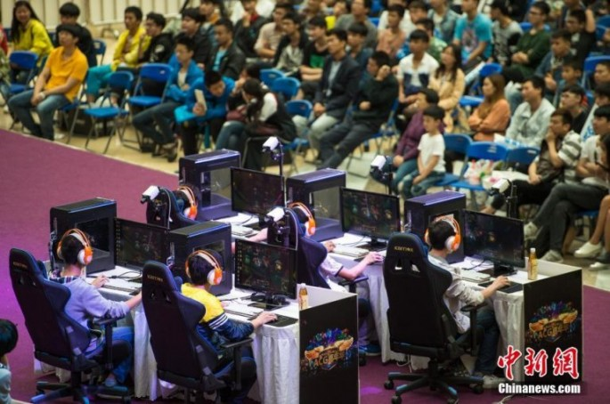 E-sports has become one of the fastest growing entertainment industries in China.