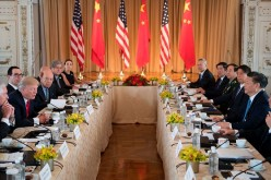 China-U.S. Expanded Bilateral Meeting at Florida