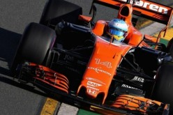 McLaren's Formula One car for the Shanghai Grand Prix.