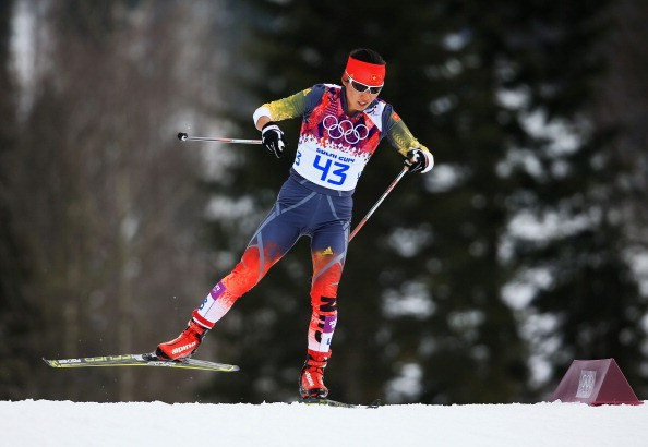 Dandan Man of China competes in the Sochi 2014 Winter Olympics