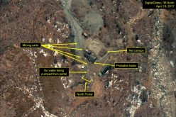 38North footage shows that North Korea is in a tactical rest.