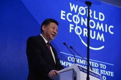 Chinese President Xi Jinping at Davos Summit