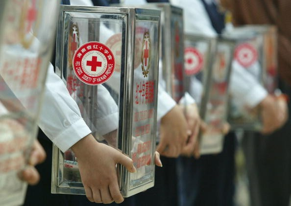 China's Red Cross Society