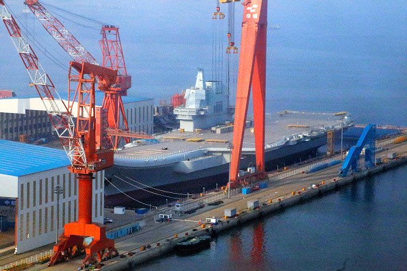 China's First Locally Made Aircraft Carrier
