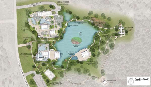 The National China Garden will be transformed into a $100 million landmark.