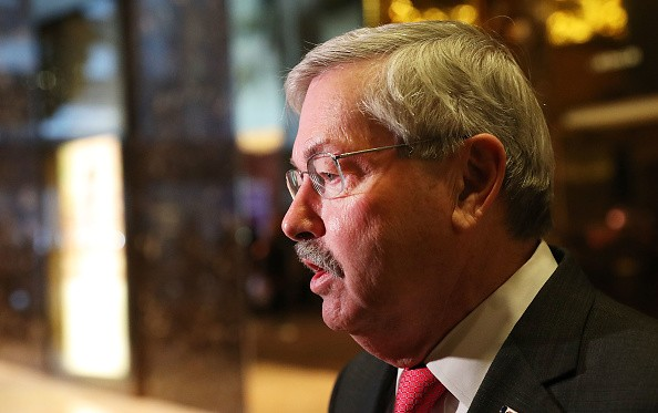 Iowa Governor Terry Branstad is the new U.S. ambassador to China.