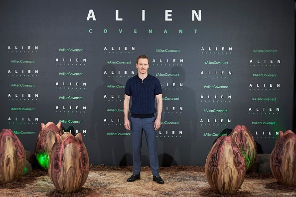 Michael Fassbender Attends 'Alien: Covenant' Madrid Photocall