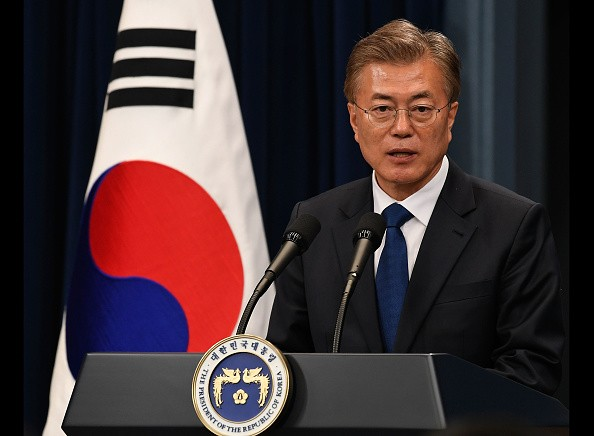 64-year-old Moon Jae-in was elected as president of South Korea on May 9, 2017.