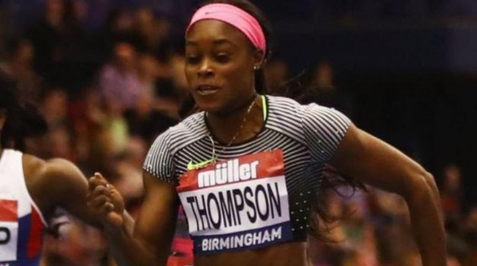 Runner Elaine Thompson showcased her top form in the Shanghai Diamond League.