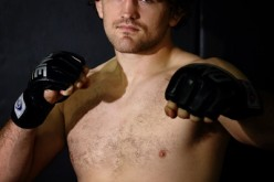 Ben 'Funky' Askren poses for a photo during a ONE FC media workout at Far East Square on May 16, 2014 in Singapore, two weeks before his ONE FC debut at 'ONE FC: HONOR & GLORY.'
