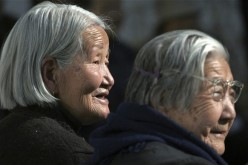 Elderly Chinese have traditionally lived with, and been looked after by, their children.