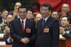 President Xi Jinping and Premier Li Keqiang, two of China's highest-ranking officials.