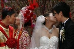Married couples in China.