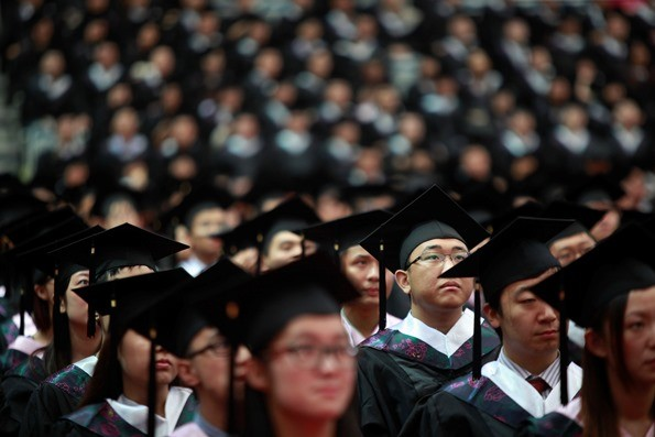 More Chinese students are opting to get their diplomas from schools abroad.