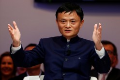The head of one of the biggest companies in China, billionaire Jack Ma.