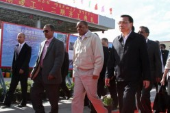 Chinese Premier Li Keqiang and Ethiopian Prime Minister Hailemariam Desalegn.