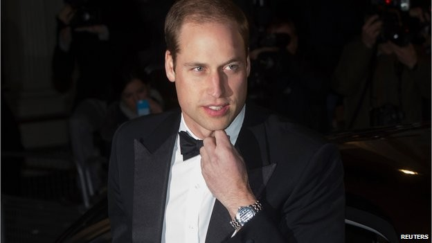 U.K.'s Prince William begins his four-day royal visit to China on March 1.