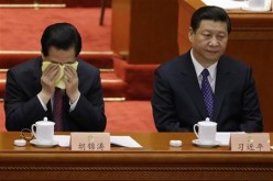 President Xi Jinping during the opening ceremony of a CPPCC meeting.