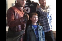 Chris Pratt & Chris Evans Visit Christopher's Haven