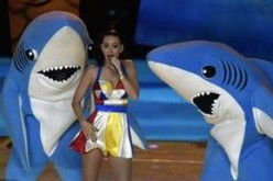 Katy Perry at Super Bowl XLIX