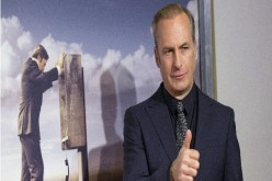 Cast member Bob Odenkirk poses at the premiere of the television series