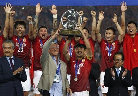 Guangzhou Evergrande emerged victorious over Kashiwa Reysol, 3-1, at a match last Tuesday.