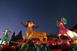 The Chinese people welcome the New Year or the Year of the Goat with celebrations and festivities all over the world.