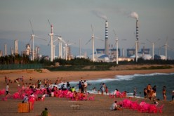 Beijing is looking into tapping wind power sources to use for heating, as part of its efforts of combatting air pollution.