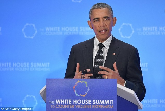 President Barack Obama delivers speech during the White House Summit to Counter Violent Extremism
