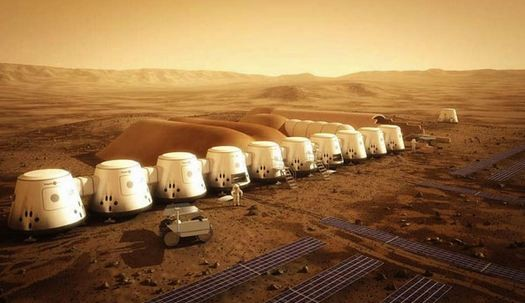 The Mars One project intends to bring individuals that will permanently man stations in the Red Planet.