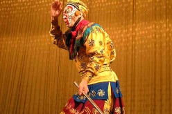 Sun Wukong is one of the characters in Peking Opera's