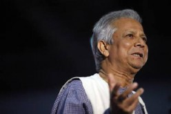 Nobel Prize winner and managing director of Grameen Bank, Muhammad Yunus.