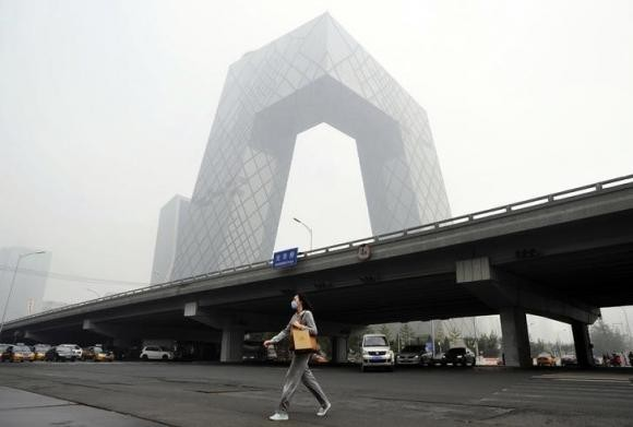 Nie Chenxi has been appointed president of China Central Television, whose headquarters are seen here.