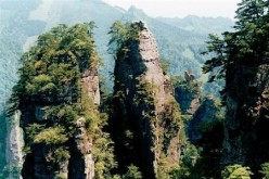 The scenic views of Zhangjiajie inspired some of the locations in the film