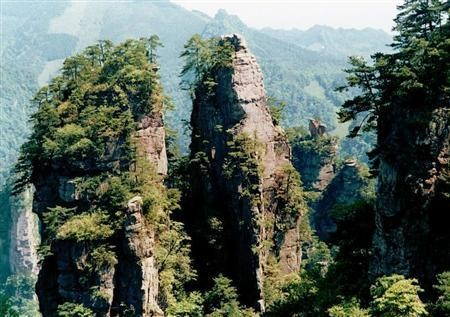 "The scenic views of Zhangjiajie inspired some of the locations in the film ""Avatar."""