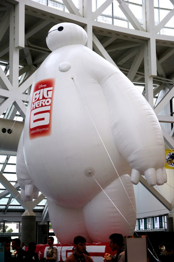 "The opening weekend of ""Big Hero 6"" in China grossed a record-breaking 92.9 million yuan ($14.8 million)."