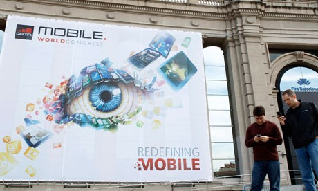 Mobile World Congress 2015 trade show banner