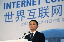 Alibaba Group Executive Chairman Jack Ma speaking at the World Internet Conference in Wuzhen township, Zhejiang Province last year.