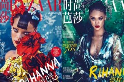 Rihanna'a Harper's Bazaar China Preview