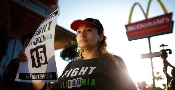 McDonald's workers fight for their rights