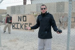 Lance Armstrong in Afghanistan