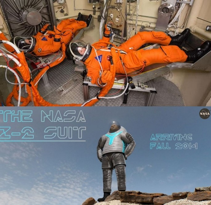 NASA tests two spacesuits for Mars mission