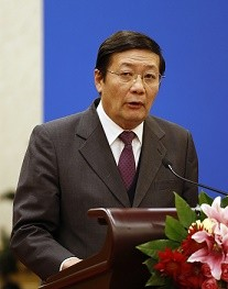 Finance Minister Lou Jiwei states that the government is under pressure to meet its revenue budget target.
