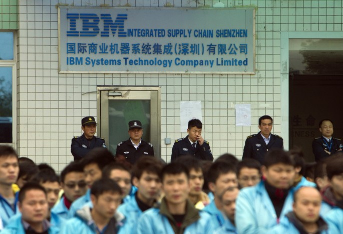 IBM's recent partnership with China's Teamsun, which involves sharing of proprietary technology, has drawn criticism from the U.S.