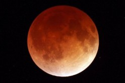 A lunar eclipse can occur only the night of a full moon because it takes place only when the Earth, sun and moon are very closely or exactly aligned with the Earth in the middle, which is called syzyg
